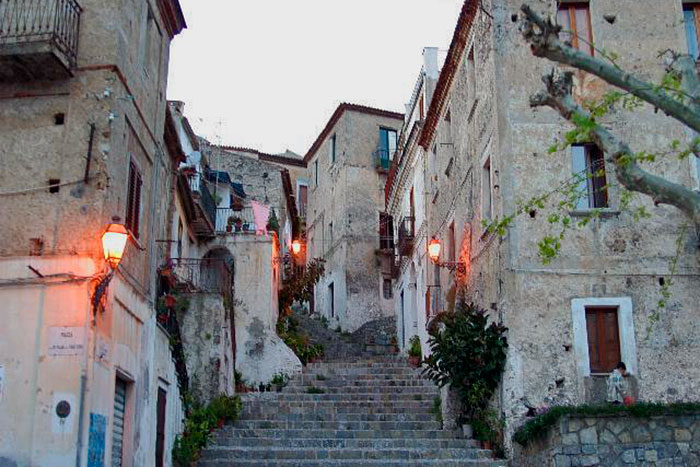 Apartments in the historic center of Scalea (in Calabria, Italy)