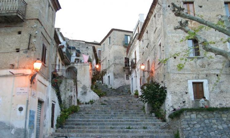 apartments in the historic cItter of Scalea (in Calabria, Italy)